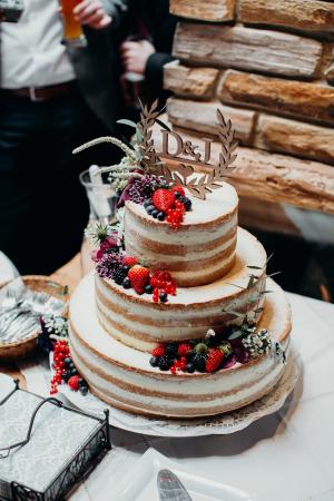 De bruidstaart