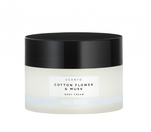 Body Cream 'Cotton Flower & Musk'