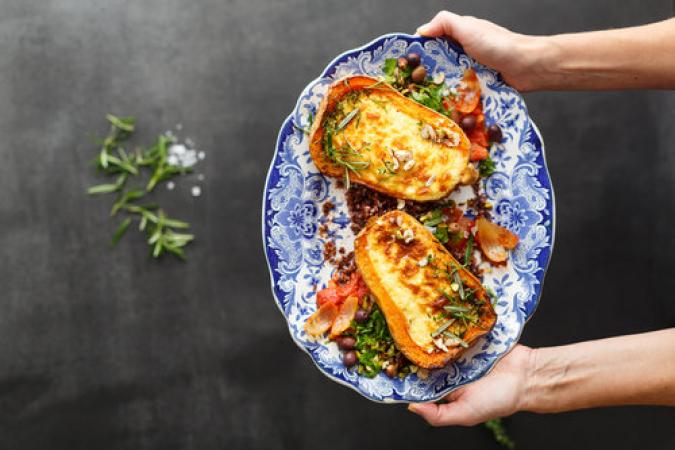 Un atelier de cuisine végétarienne