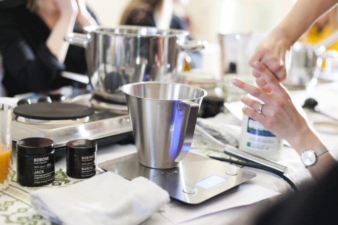 Un atelier cosmétique