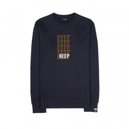 Donderblauwe sweater