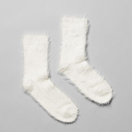 Chaussettes de Yéti pour frileuse