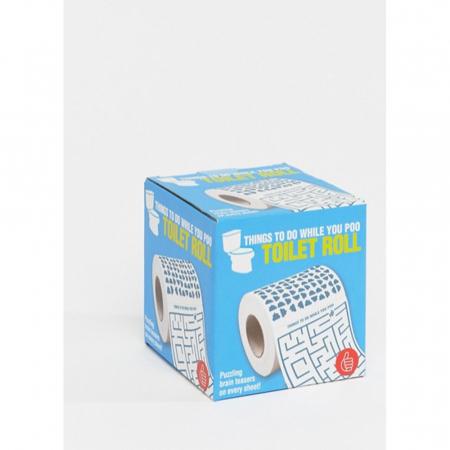 Rouleau de papier toilette à jeux