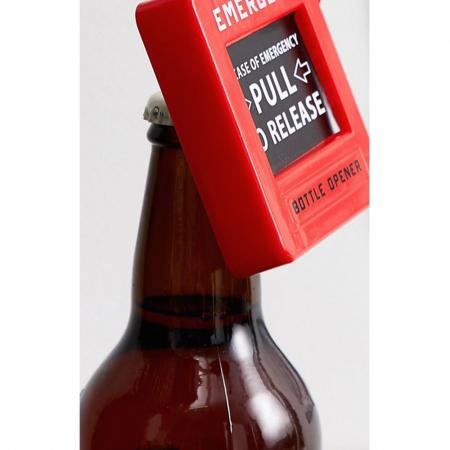 Emergency bottle opener