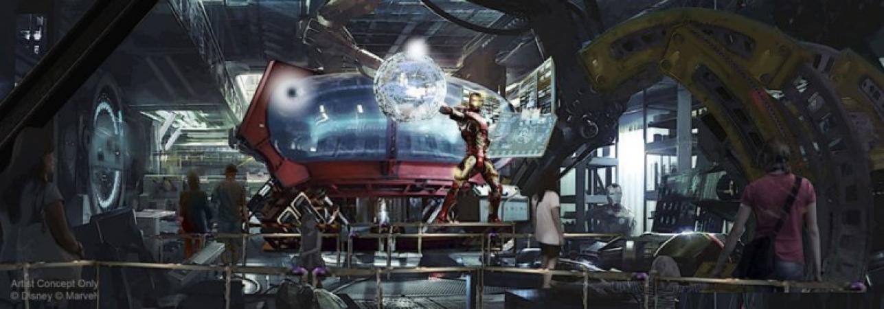 De nieuwe Iron Man Coaster.