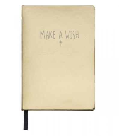 'Make a Wish'-notitieboekje
