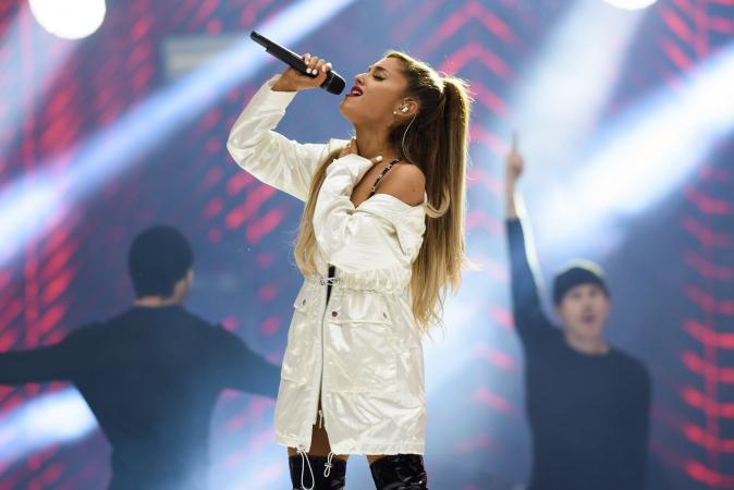 Het concert van Ariana Grande in het Sportpaleis