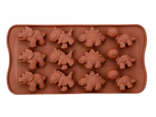 Chocoladevormpjes dino's