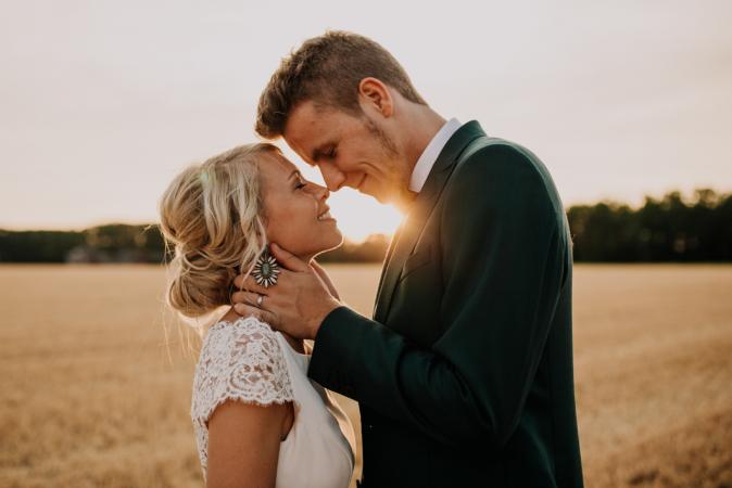 Het eerste intieme moment als man en vrouw