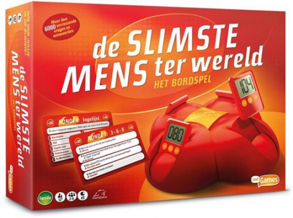De Slimste Mens Ter Wereld bordspel