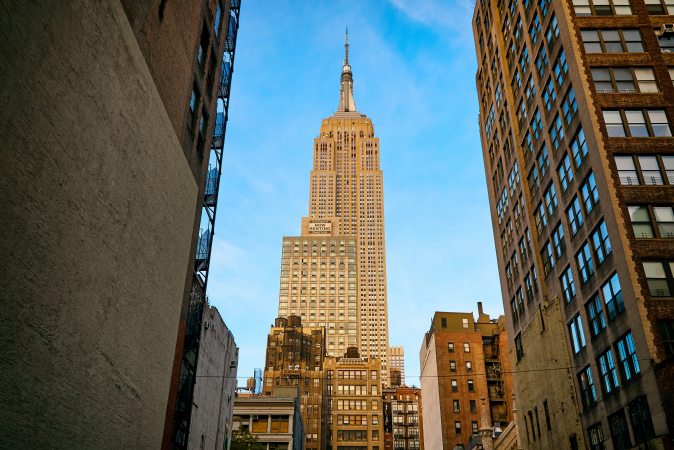 1. Empire State Building (New York, VS)