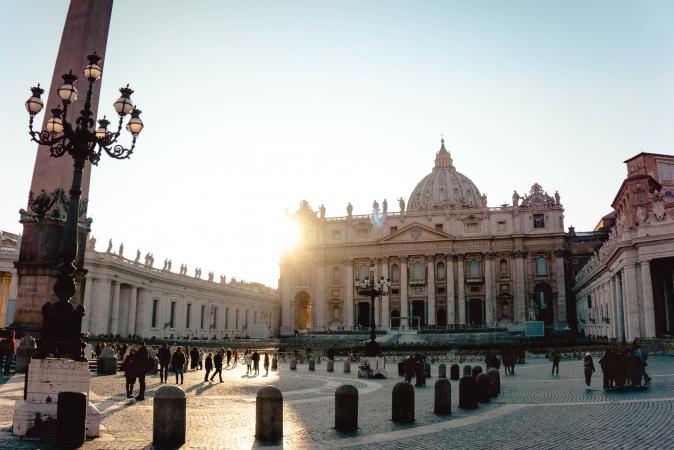 13. Het Vaticaan (Italië)