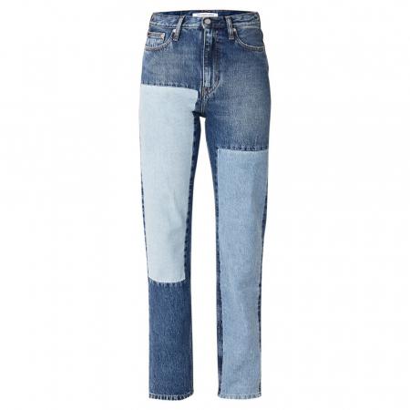 Un jean patchwork