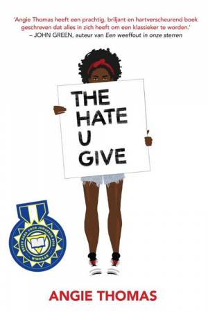 'The hate u give' van Angie Thomas en Jasper Mutsaers