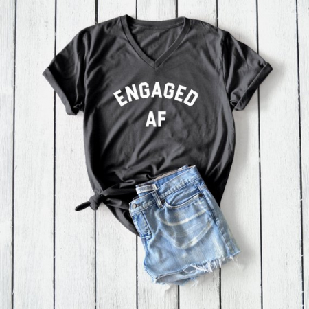 Een T-shirt met een niet mis te verstane boodschap