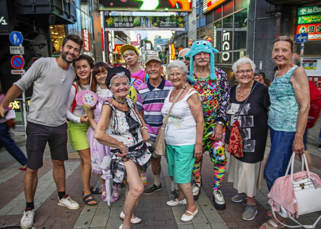De Wereld Rond Met 80-jarigen