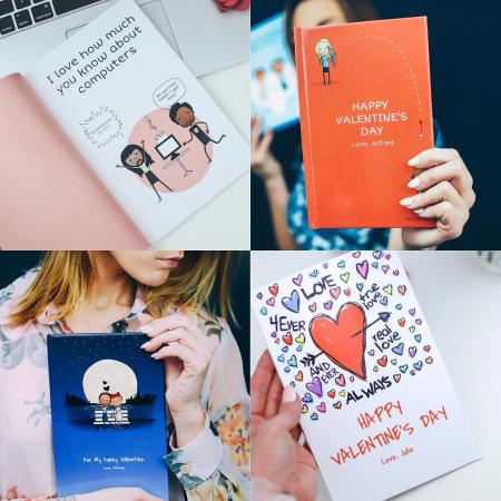 Vertel jullie liefdesverhaal in een gepersonaliseerd liefdesboek