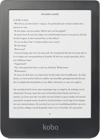 Voor wie graag digitaal leest: e-reader