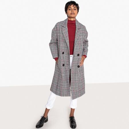 Manteaux à carreaux