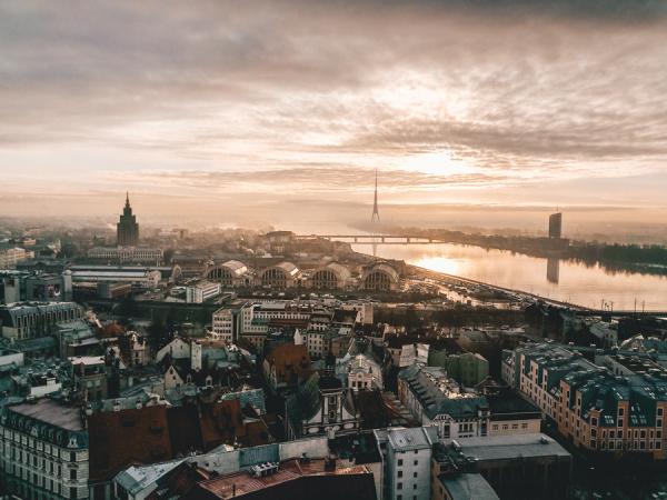 5. Riga, Letland