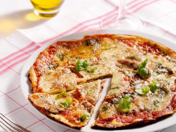 Pizza-pannenkoeken