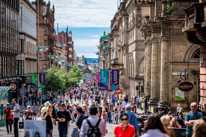 3. Glasgow, Schotland