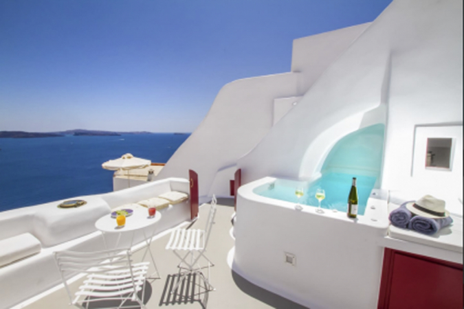 Hector Cave House, Santorini, Griekenland