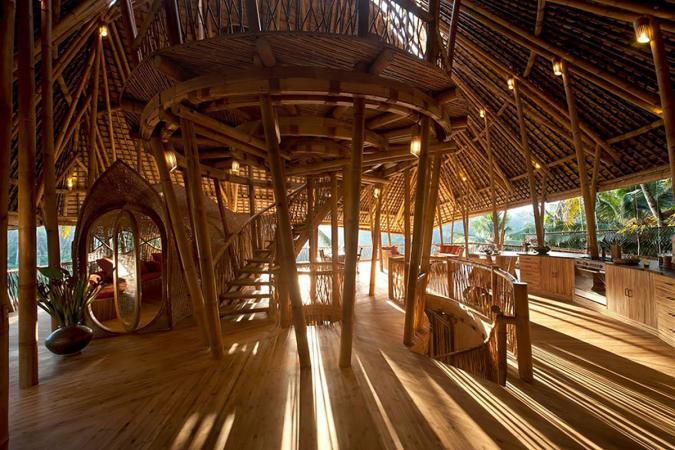 Bamboewoning,Bali,Indonesië