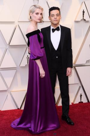Lucy Boynton & Rami Malek