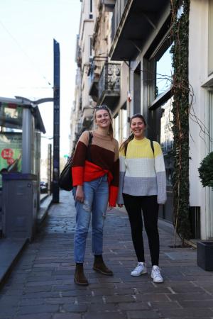 Sarah (20) en Merel (20)