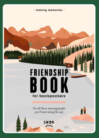 'Friendship Book for backpackers' van Cerina de Troije