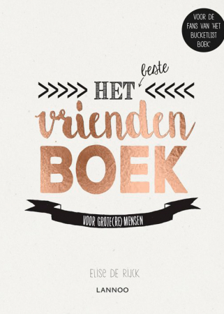 'Het beste vriendenboek' van Elise De Rijck