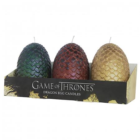 Des bougies œufs de dragon
