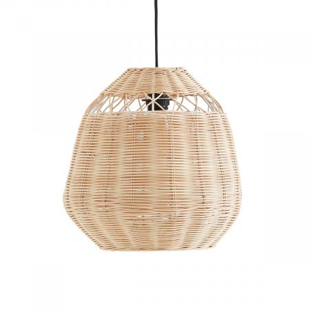 Hanglamp in rotan 'Nogu'
