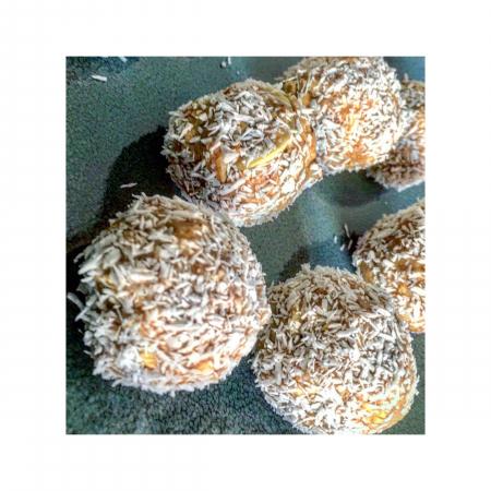 3. Proteïneballetjes met pindakaas