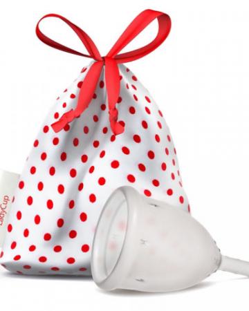 Herbruikbare menstruatiecup