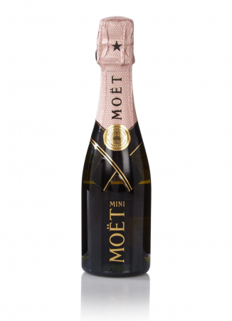 Mini Moët Rosé-champagne