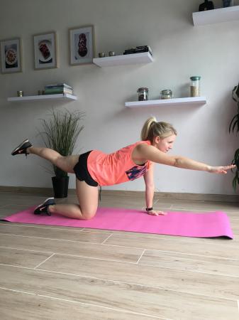2. Opposite leg and arm raise (deel 2)
