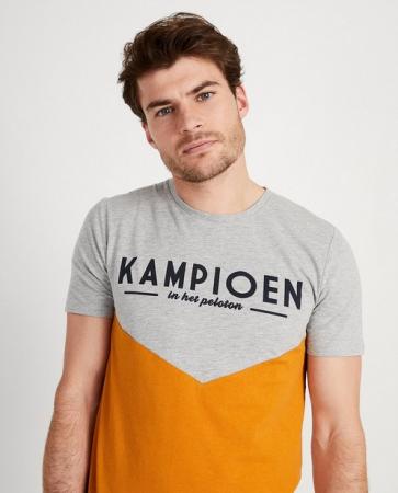 Grijs T-shirt 'Kampioen'