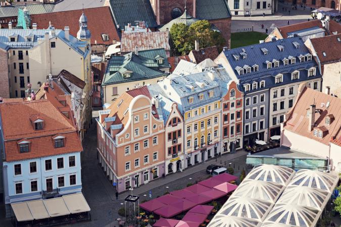 7. Riga, Letland