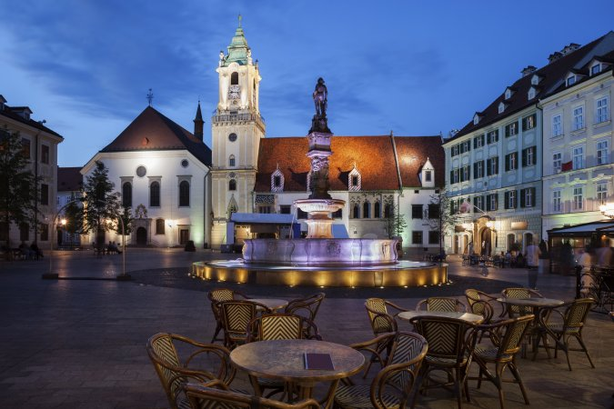 8. Bratislava, Slowakije