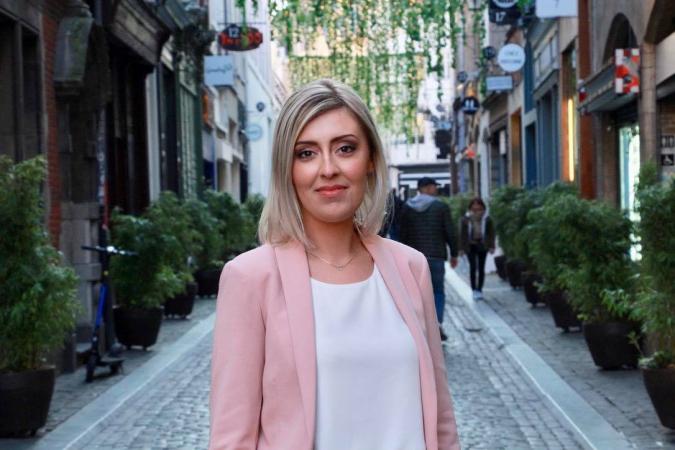 Leila Agic, 24 ans, étudiante en Science Po, PS