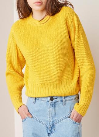 Grofgebreide trui van katoen