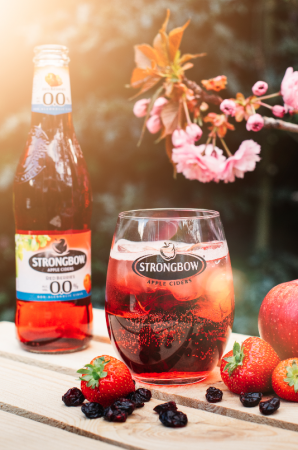 Strongbow Red Berries 0.0%