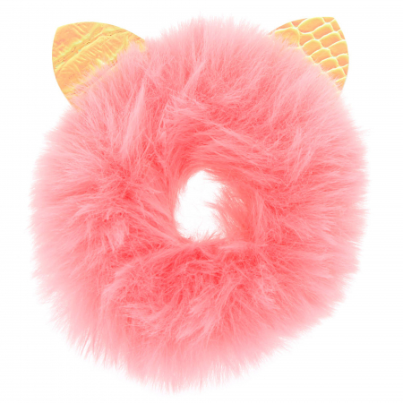 Fur Ears Scrunchie