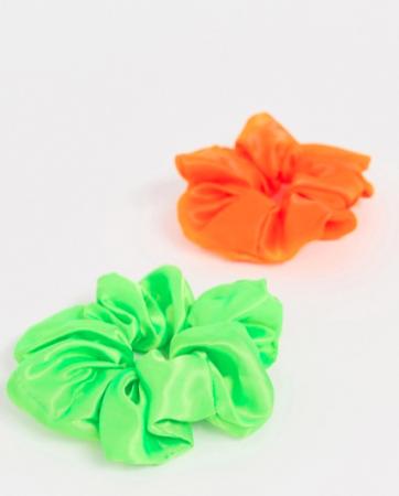 Neon Scrunchies