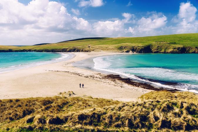 6. Shetland, Schotland