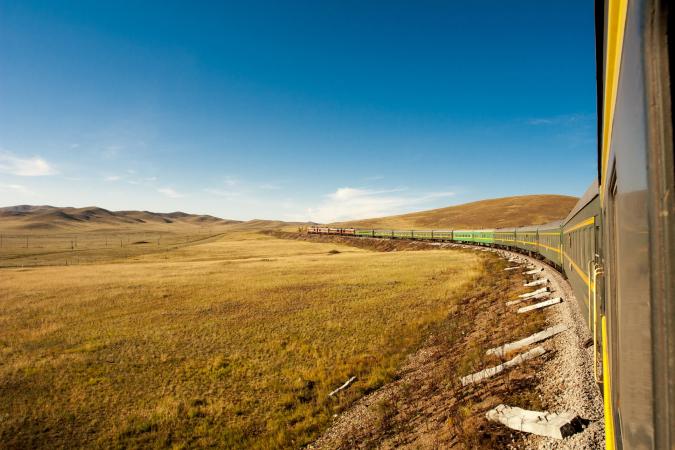 2. Trans-siberische trein, Moskou tot Vladivostok