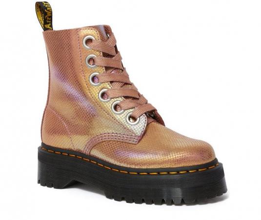 Roze boots (hoog)