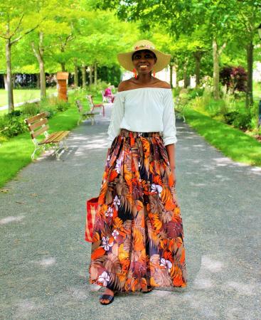 Une jupe longue